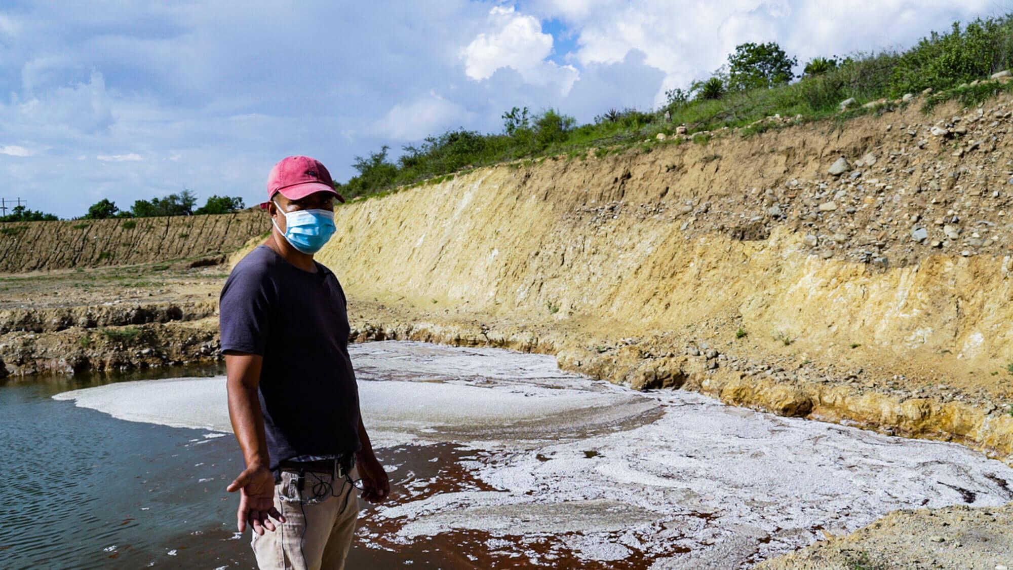 contaminación en Magdalena Ocotlán