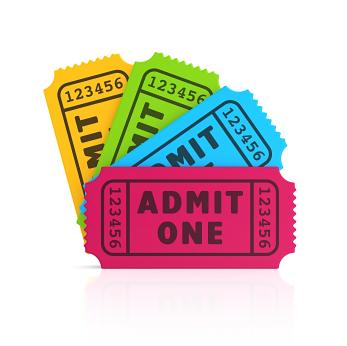 """tickets - COMO DIZER """"ENTRADA"""" EM INGLÊS?"""