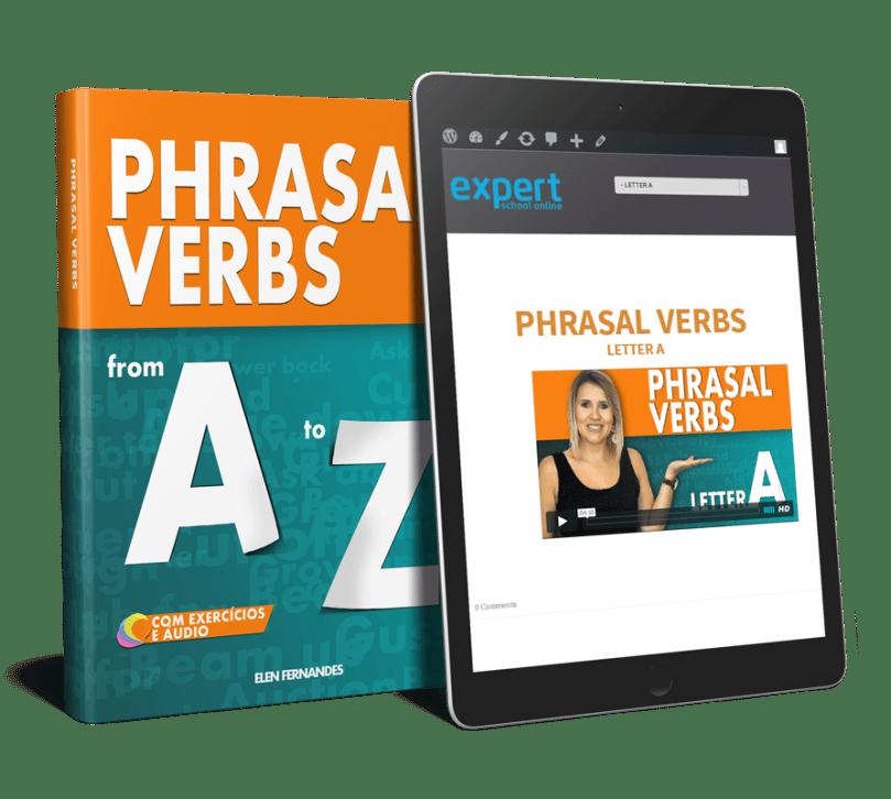 Phrasal Verbs MOCKUP - E-book PHRASAL VERBS de A a Z