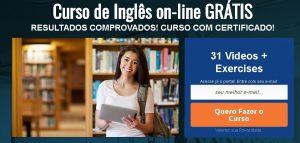 curso de ingles gratis 300x143 - Curso Online Grátis