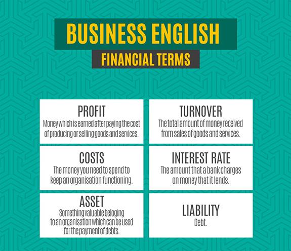 BLOG business 01 - Business English - Inglês para Negócios/trabalho - Financial Terms