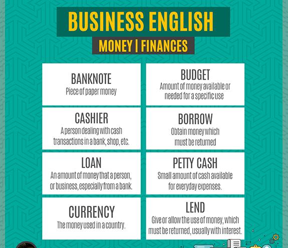 BLOG business 02 1 - Business English - Inglês para Negócios/Trabalho - Money | Finances