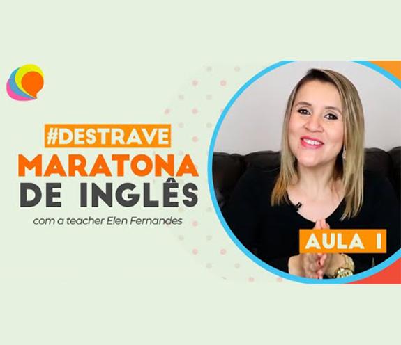 BLOG MARATONA AULA 01 - MARATONA DE INGLÊS: Aprenda 50 frases - aula 1