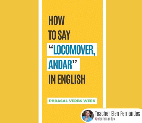 """BLOG COMO SE DIZ LOCOMOVER - Como se diz: """" locomover, andar """" em inglês?"""