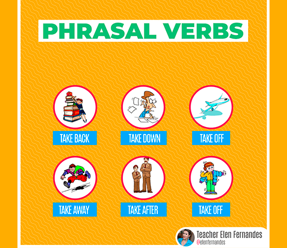 "BLOG PHRASAL VERBS TAKE - Phrasal verbs com ""TAKE""."
