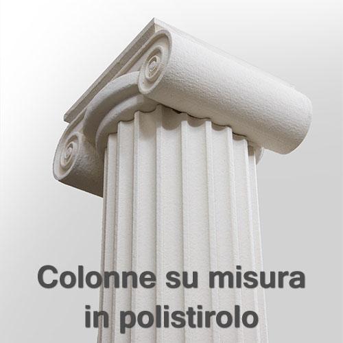 Colonne decorative polistirolo  Boiserie in ceramica per bagno