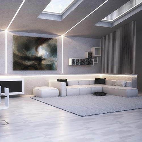 Cornici Led per interni  Velette  Tagli di luce