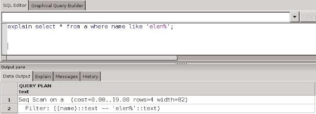 Test 3 for PostgreSQL Indexes