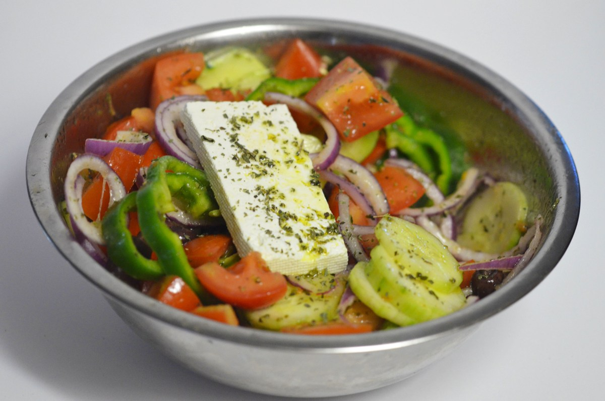 Horiatiki Salata (Greek Village Salad)