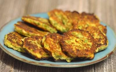 Kolokithokeftedes (Zucchini Fritters)