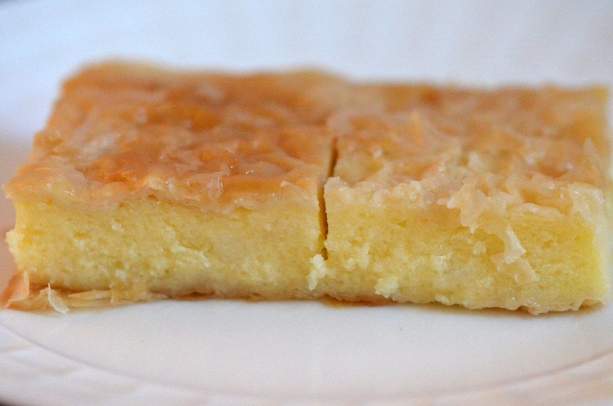 Galaktoboureko (milk custard pie)