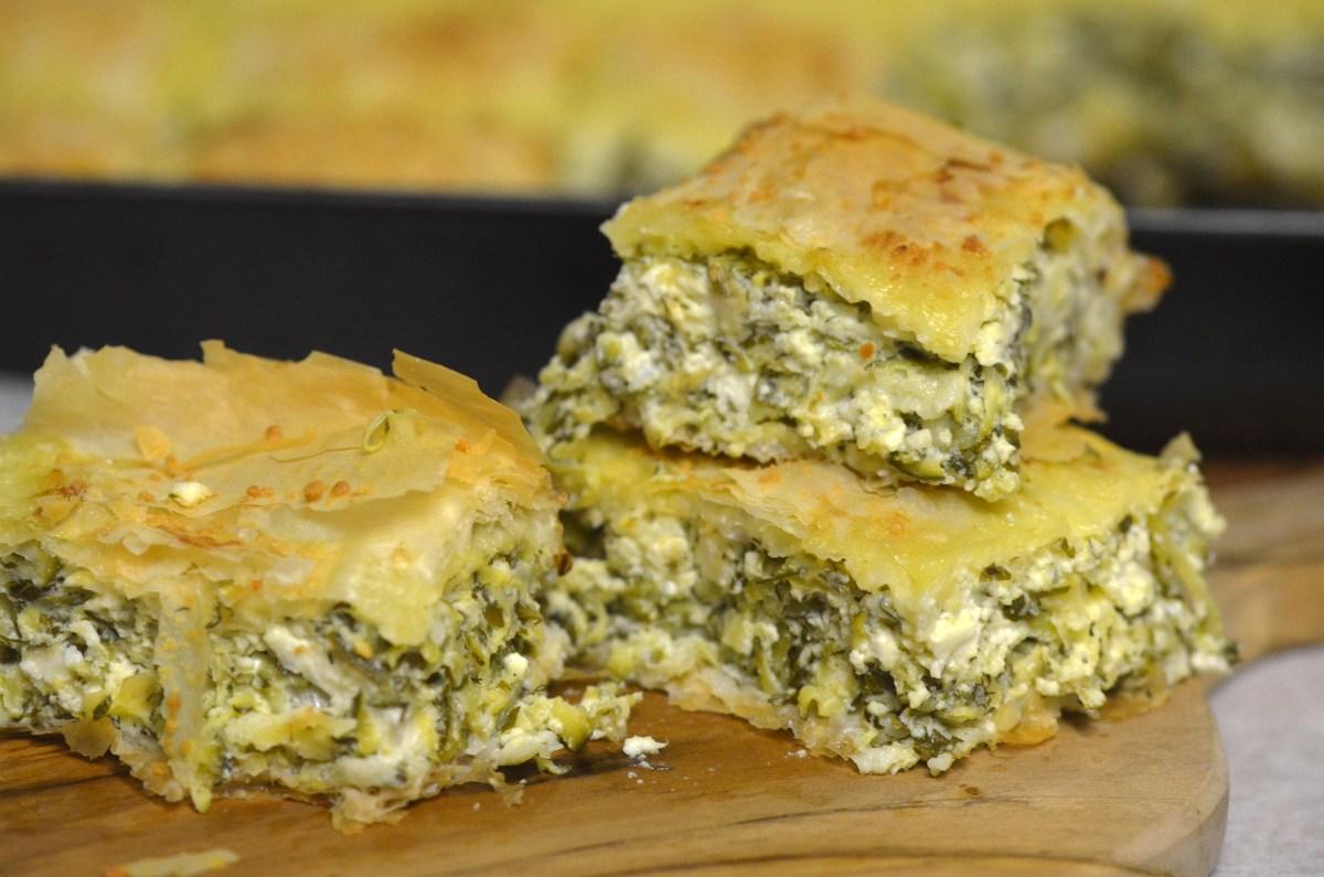 Kolokithopita (Zucchini Pie)