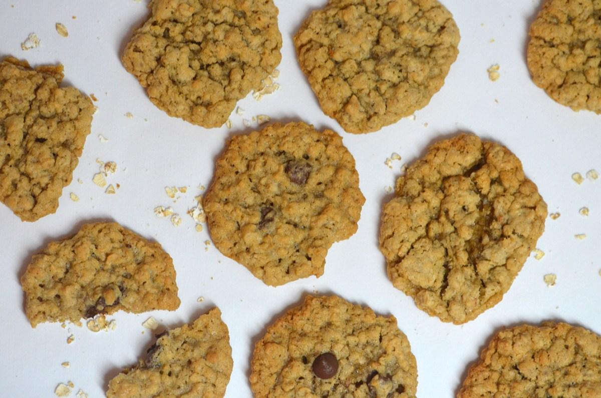 Helen's Oatmeal Cookies