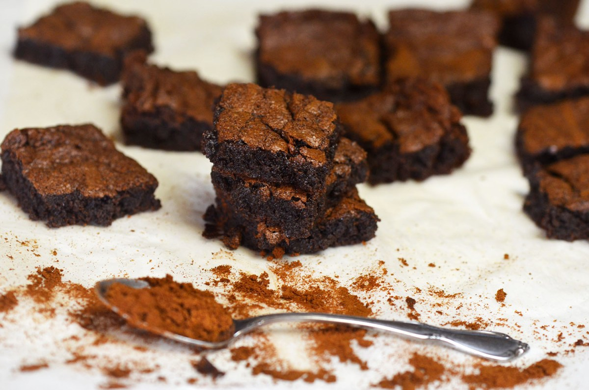Greek Coffee Brownies