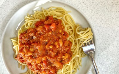 "Meatless ""Meat"" Sauce"
