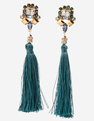Stradivarious  tassel earrings