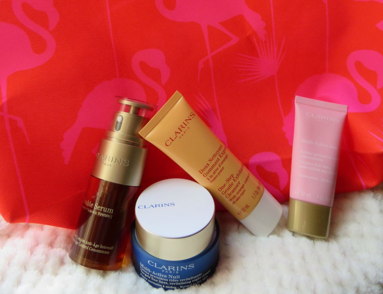 Clarins Skincare Haul