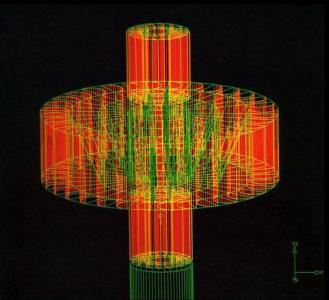 Torre Solar. Sin fecha. Duratrams. 125 cm x 125 cm