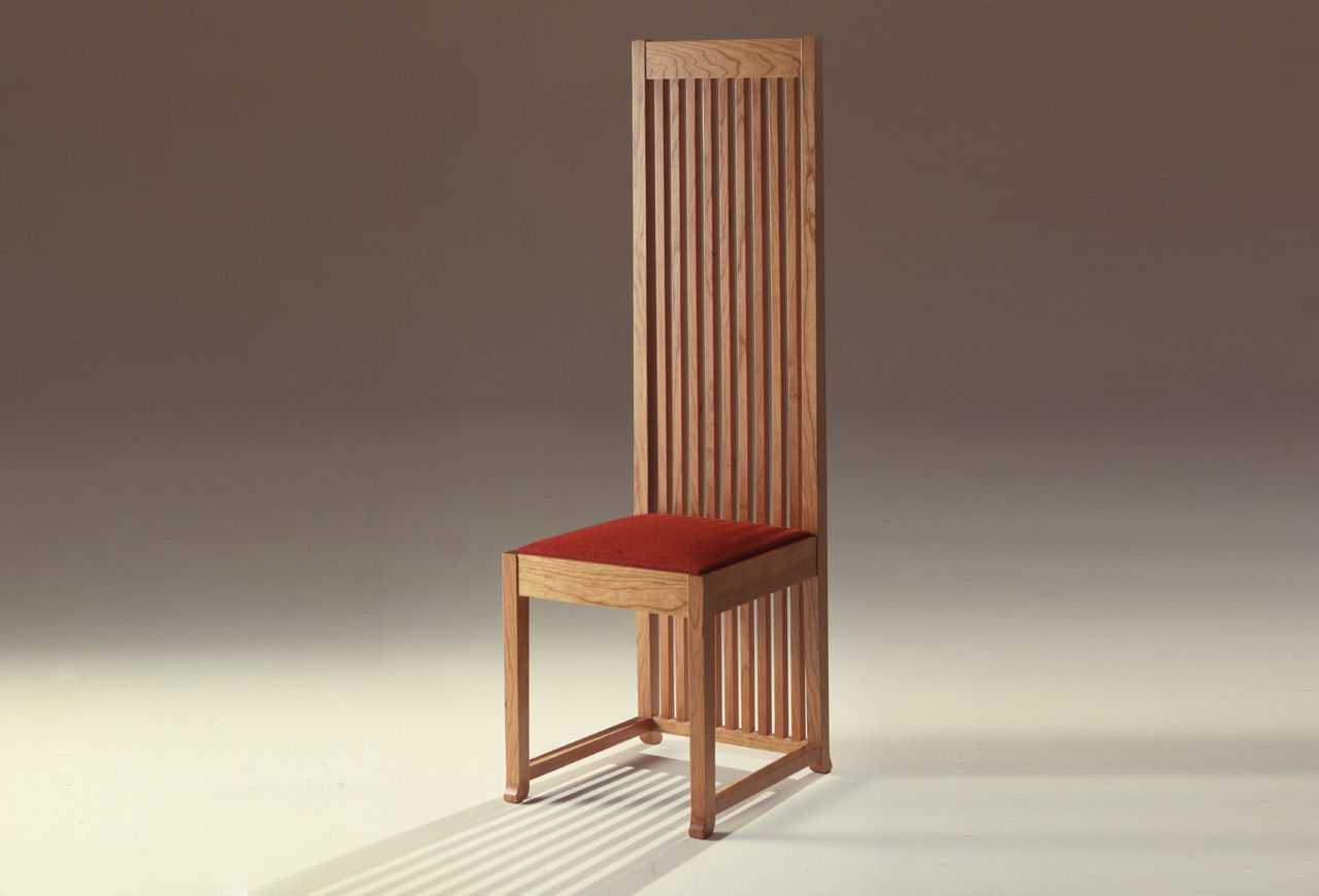 Frank Lloyd Wright Chairs March 2014 On Tiptoe