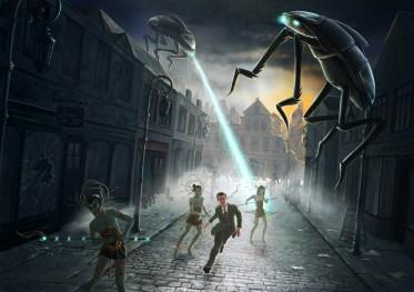 Finsterland - Alieninvasion