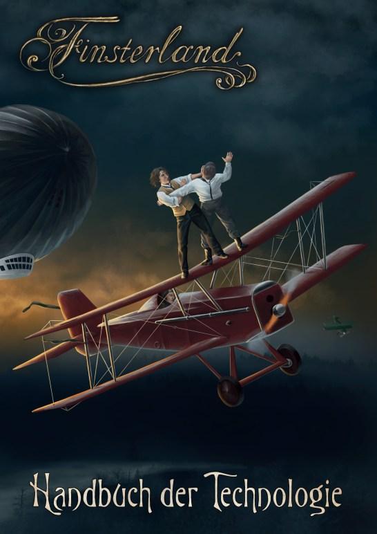 Finsterland Technologiebuch Cover