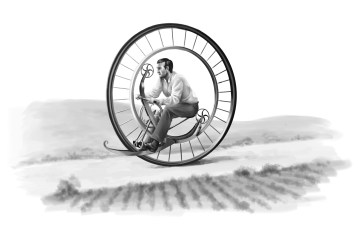 Finsterland - Fahrrad
