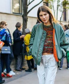 Street Style Look of Paris Fashion Week - Ursina Gysi - vogue.com