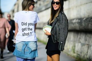 On the Streets of Paris Fashion Week Spring 2015 - Paris Fashion Week Spring 2015 Day 3 by Adam Katz Sinding - wmagazine.com