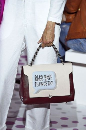 Anya Hindmarch Spring 2015 RTW collection - anyahindmarch.com