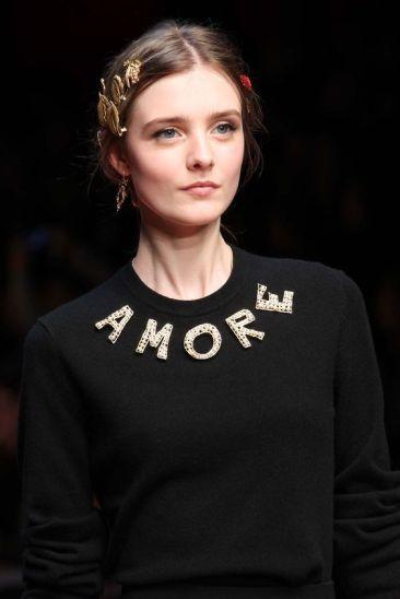 Dolce & Gabbana Fall 2015 Ready-to-Wear - Marcus Tondo - vogue.com