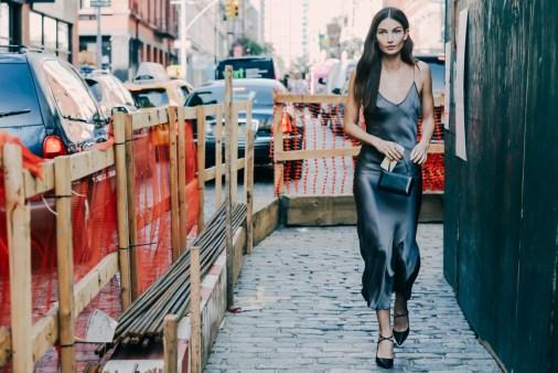Street looks à la Fashion Week printemps-été 2016 de New York - Photographe © Dan Roberts - vogue.fr