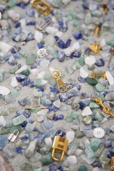 Terrazzo Hermès Atelier petit h, a multi-coloured pattern of concealed treasures - pinterest.com