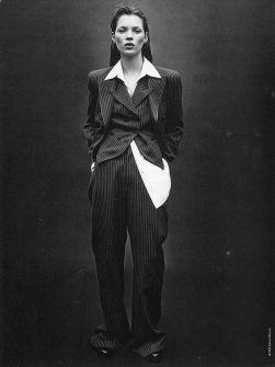 Kate Moss by Steven Meisel for Calvin Klein