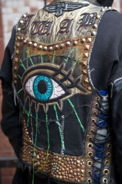 embroidery eyes jacket - pinterest.com