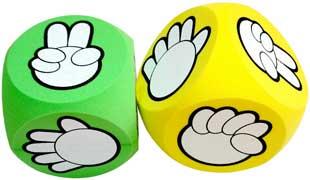 剪刀石頭布猜拳骰子遊戲