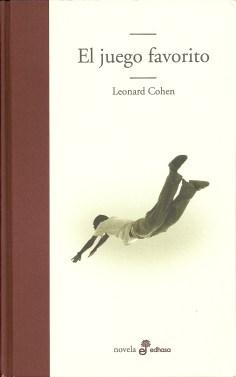 """Portada de """"El juego favorito"""" de Leonard Cohen"""