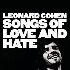 "Carátula de ""Songs of love and hate"" (1971) de Leonard Cohen"