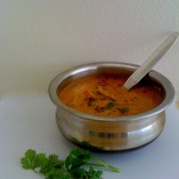 Sambar / Thenga aracha sambar /Sambar with coconut -(Palakkad special)
