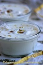Elaneer payasam / tender coconut dessert