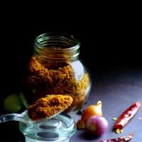 Coconut chutney powder / Chammanthi podi Kerala style / Nadan Chammanthi podi / Idi Chammanthi