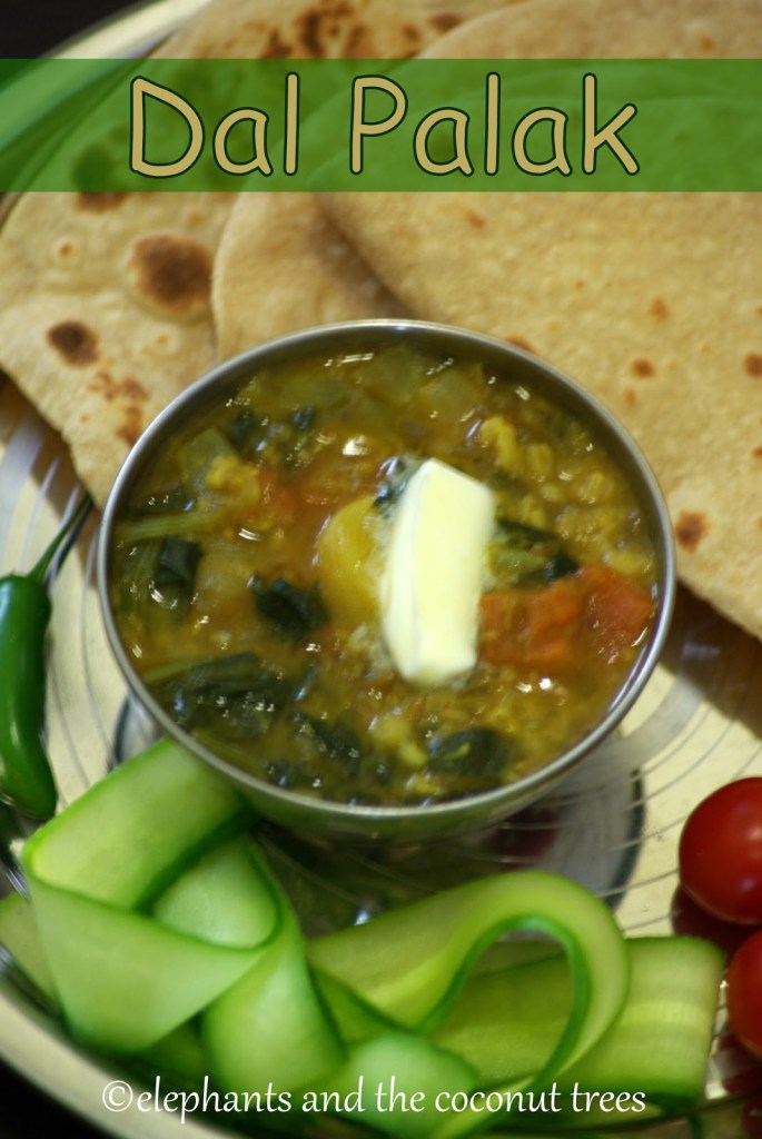 dal palak, lentil and spinach curry,Vegetable curry recipes