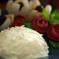 Lychee and Tender coconut pudding/ Litchi and Tender coconut dessert / Easy recipe
