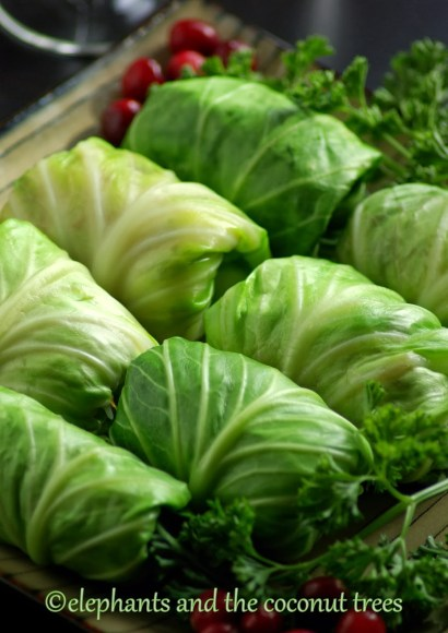 Thumbnail for Cabbage Roll / Stuffed Cabbage with Turkey