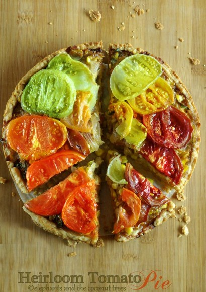 Thumbnail for Heirloom Tomato pie