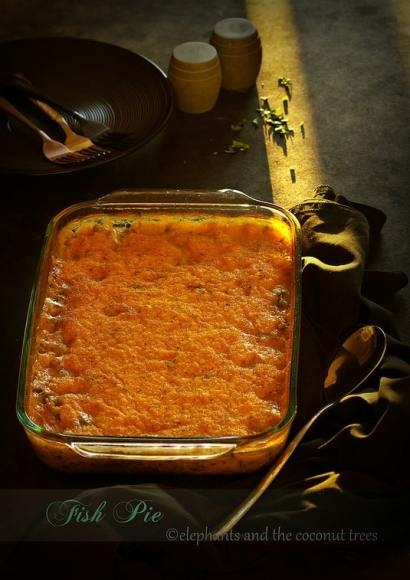 Thumbnail for Fish Pie with Sweet Potato Topping