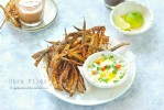 Okra Fries | Baked, vegan, crispy ladies finger |