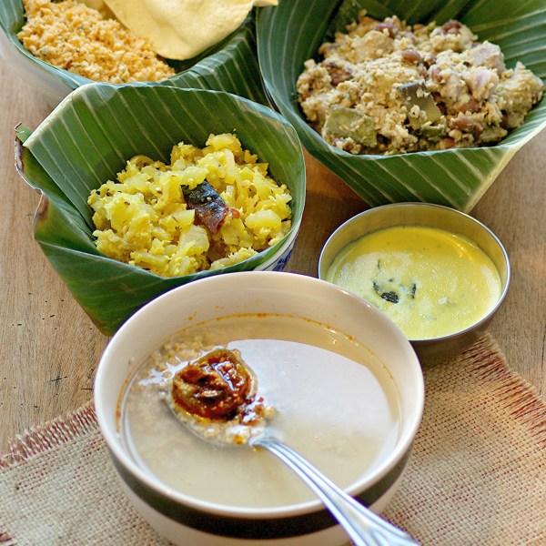 nurukku gothambu kanji , Broken wheat porridge, Thiruvathira