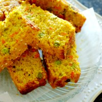 Savory Semolina Cake / Vegetarian Savoury Cake