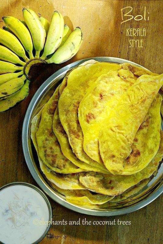 Boli Kerala Style / Puran poli / Kerala sadya recipe