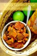 Naranga Achar / Kerala style Lemon Pickle / Lime Pickle / Sadya special Cherunaranga Achar